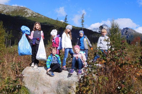 Do akcie Čisté hory sa zapojili aj školy.