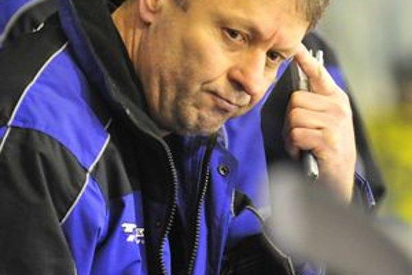 Dušan Gregor tréner MHC Martin.
