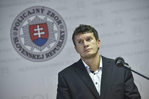 Riaditeľ národnej protizločineckej jednotky NAKA Branislav Zurian.