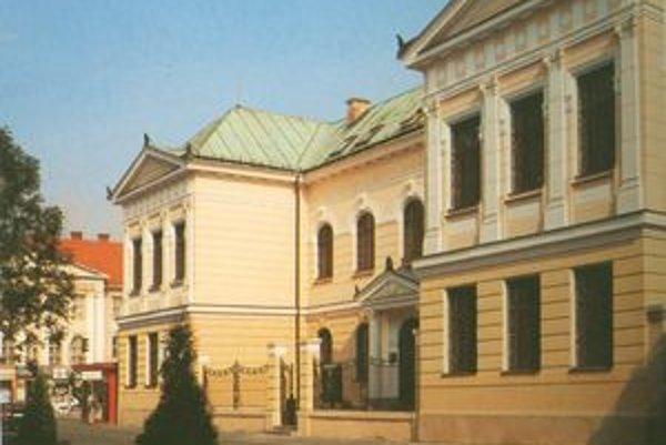 Múzeum Andreja Kmeťa budú dva roky rekonštruovať.