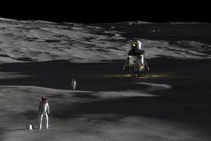 Lander by na povrchu mohol zotrvať dva týždne bez opätovného tankovania.