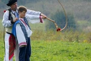 Martin Brxa učil v Čičmanoch plieskať bičom.