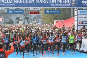 Na štarte 95. ročníka MMM bolo prihlásených rekordných 13 848 účastníkov.