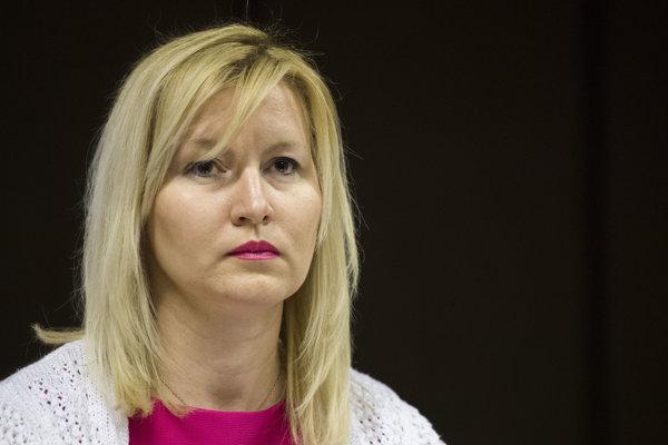 Vedúca Odboru rozhlasového spravodajstva a aktuálnej publicistiky Petra Stano Maťašovská.