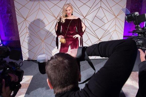 Ambíciu kandidovať na prezidentku má aj Gabriela Drobová, ktorá sa rada ukazuje na celebritných večierkoch.
