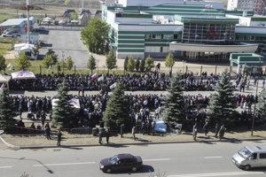 Protesty v Ingušsku.