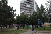 Nemocnica v Nových Zámkoch.