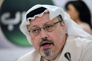 Na archívnej snímke z 1. februára 2015 saudskoarabský novinár Džamál Chášukdží.