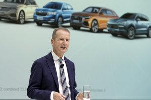 Herbert Diess, generálny riaditeľ koncernu Volkswagen.