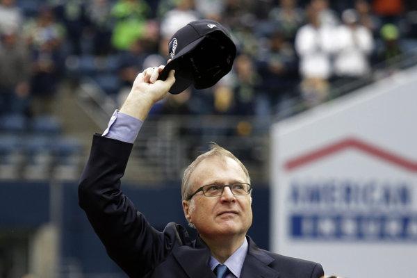 Paul Allen vlastnil viaceré športové tímy z jeho rodného mesta Seattle.