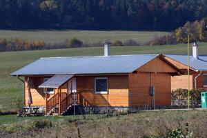 Modelový dom v bývalej rómskej osade v Spišskom Hrhove.