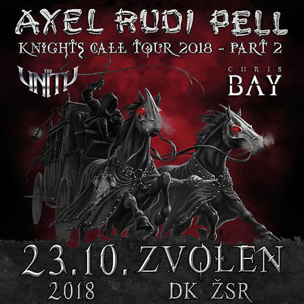 Axel Rudi Pell, The Unity a Chris Bay vo Zvolene