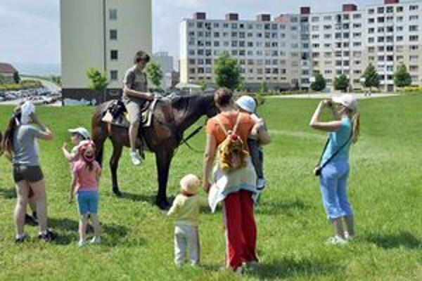 Aj tento rok si budú môcť deti zajazdiť na koňoch.
