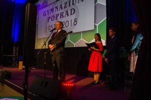 Príhovor absolventa popradského gymnázia a prezidenta Andreja Kisku.