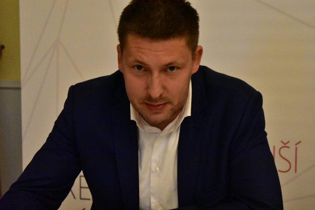 František Matušík, starosta obce Domaniža, predseda združenia obcí Strážovské vrchy