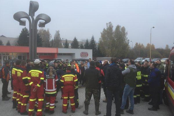 Na pátracej akcii sa zúčastnilo okolo 120 ľudí.