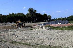 Výstavba diaľnice D4.