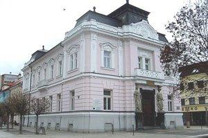 Budova bývalej Tatrabanky v Martine.