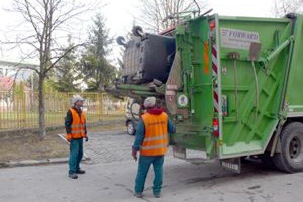 Vývoz odpadu bude drahší.