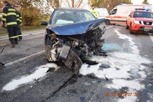 Nehoda medzi Trnavou a Bučanmi sa stala ešte v polovici októbra.