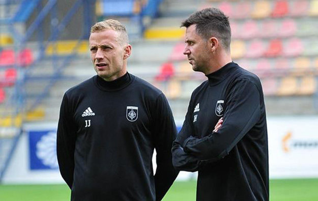 Jiří Jarošík (vľavo) aDavid Holubek.
