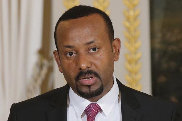 Etiópsky premiér Abiy Ahmed.