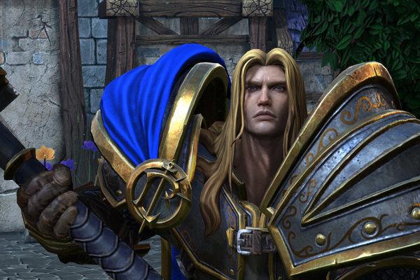 Arthas vďaka remasteru dostal novú podobu.