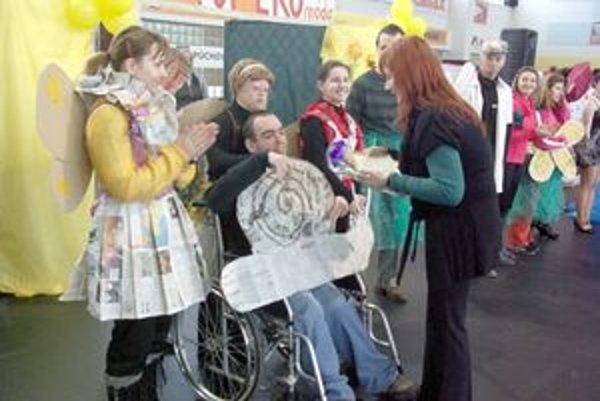 Diplomy dostali súťažiaci za dobrý nápad a kreativitu.