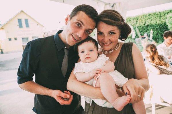 Daniel Launer s rodinou.