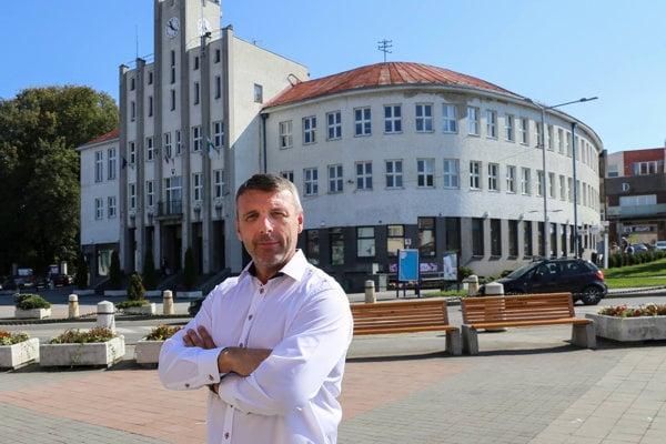 Jozef Pajer - kandidát na primátora mesta Čadca.