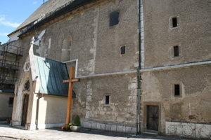 Vstup do katedrály sv. Martina