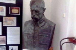 Busta TGM v obecnom múzeu.