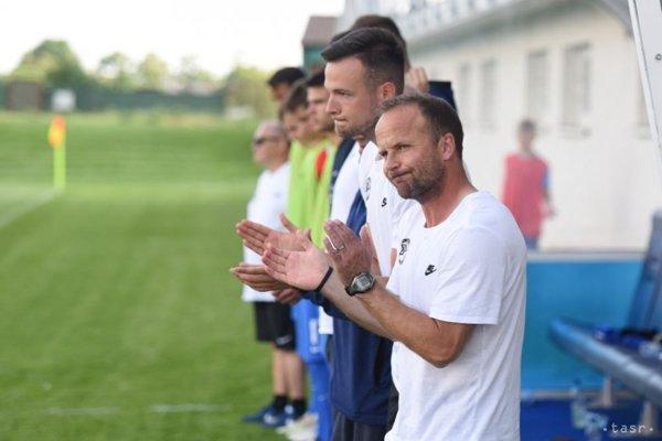 Tréner SR 17 Marek Bažík.