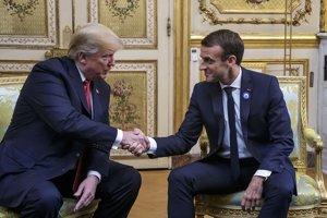 Francúzsky prezident Emmanuel Macron a americký prezident Donald Trump sa vyslovili za silnejšiu európsku angažovanosť v Severoatlantickej aliancii (NATO).