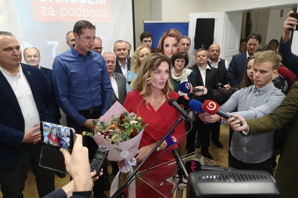 Andrea Turčanová po víťazstve.