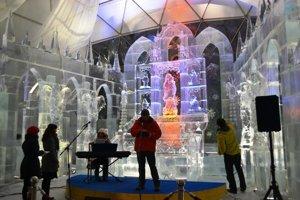 Krásu ľadového umenia budú môcť ľudia obdivovať aj tento rok.