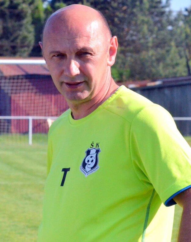 Tibor Rataj, tréner Turčianskej Štiavničky.