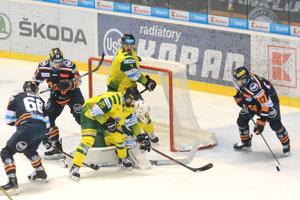 Košickí hokejisti doma zdolali Žilinu 3:1.