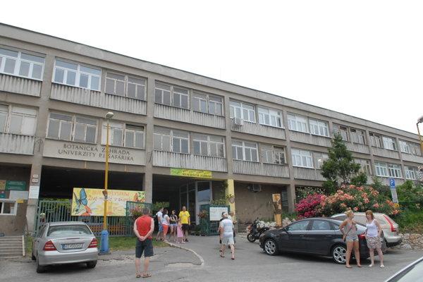 Rekonštrukciou by mala prejsť aj vstupná budova Botanickej záhrady UPJŠ v Košiciach.