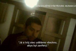 Andrej Babiš mladší na videu relácie Zvláštní vyšetřování portálu Seznam.cz