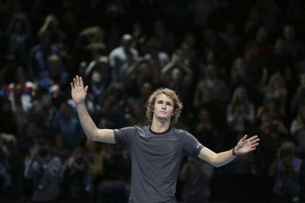 Alexander Zverev ovládol Turnaj majstrov.
