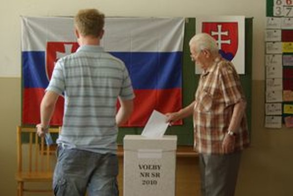 Počas volieb.