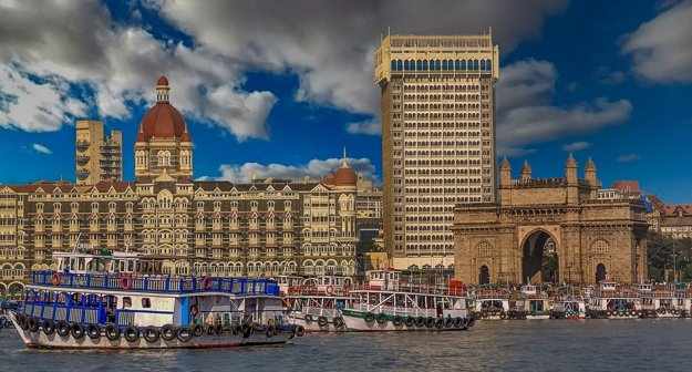 Bombaj, India.