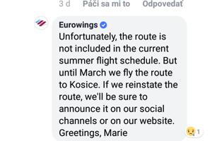 34b067fd7eb Košice majú letecké spojenie s mestami Düsseldorf a Mníchov - kosice ...