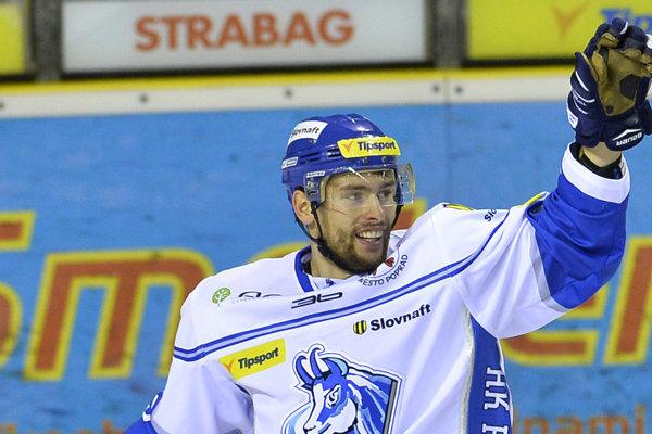 Samuel Takáč dal dva góly Popradu.