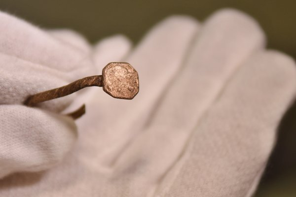Náušnica z 15 až 16. storočia.