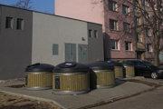 Polopodzemné kontajnery na sídlisku Linčianska sa osvedčili.