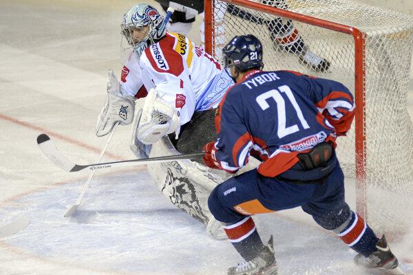 Radoslav Tybor v reprezentačnom drese na ilustračnej fotografii.