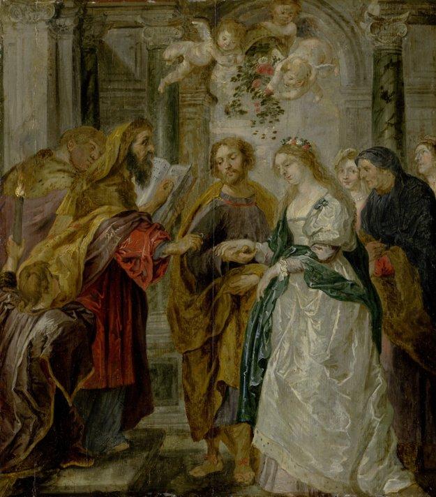 Dielňa Peter Paul Rubens: Zasnúbenie Panny Márie. 1620 – 1640.