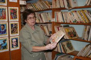 Mária Závatská 45 rokov vedie knižnicu vo Veľkej Lomnici.